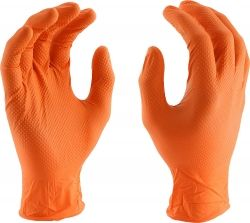 50pcs ULTIMATE GRIP Disposable Nitrile Gloves