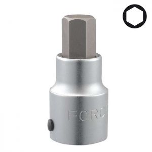 "16 mm 3/4""Dr. Hex socket bit, 36408016"