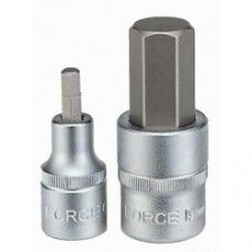 "1/2""Dr. Hex socket bit 6 mm, 34405506"